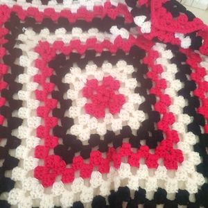 "Handmade ""Blackberry"" Crocheted Baby Blanket"